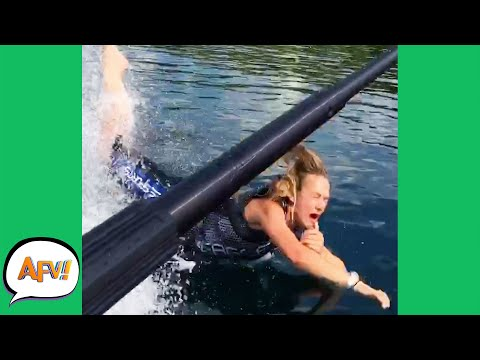 Watch Her DISAPPEAR With the FAIL! 😅 | Funny Fails | AFV 2021