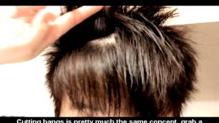 Short Asian Hairstyle Tutorial How To Cut & Style: Buzzed Sides