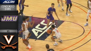 James Madison vs. Virginia Condensed Game | 2019-20 ACC Men's Basketball