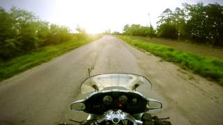 Thru russian villages on Bmw r1100rt motorcycle trip