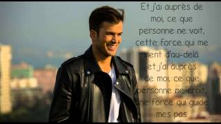 Paroles - Je ne marche pas seul - David Carreira
