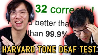 Beating 99.9% of the Population in the Harvard Tone Deaf Test!?