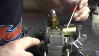 AquaHot Fuel Pump Replacement