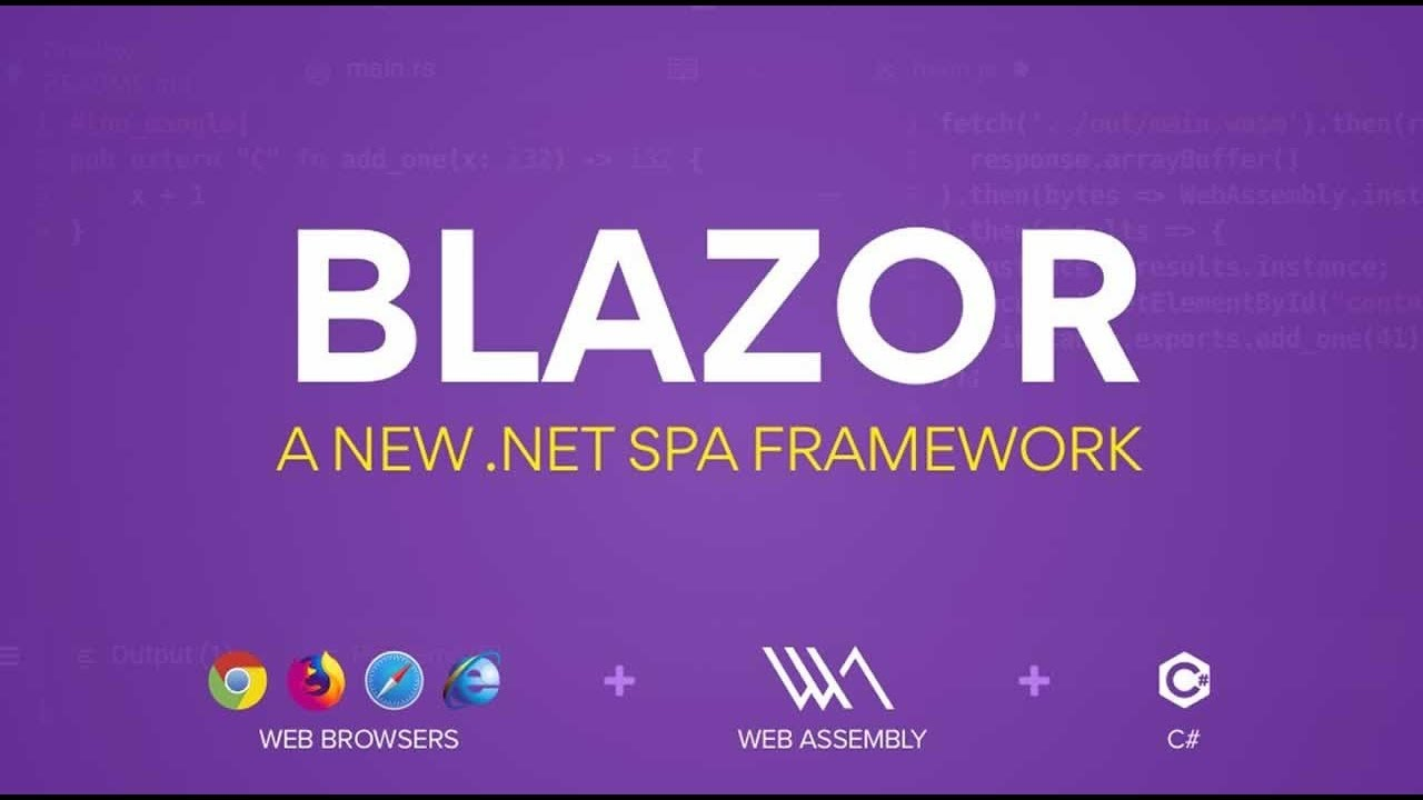 Blazor, a new framework for browser-based .NET Apps