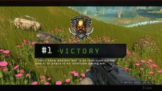 Blackout Solo WIN!