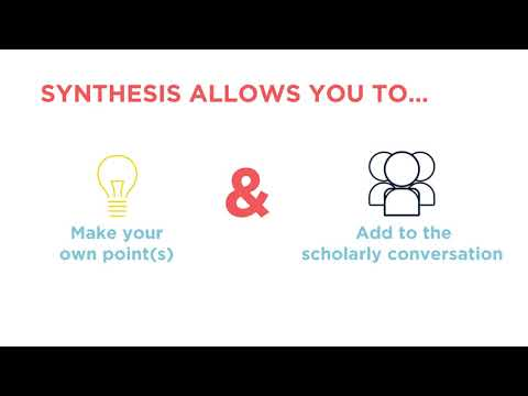Synthesis for Literature Reviews