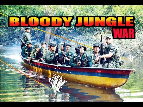JUNGLE BLOODY AMBUSH - FARC GUERRILLA VS. COLOMBIA ARMY