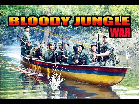 JUNGLE BLOODY AMBUSH - FARC GUERRILLA VS. COLOMBIA ARMY