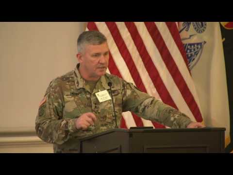 "AUSA Colonial Professional Forum 2017: MG Robert ""Bo"" Dyess"