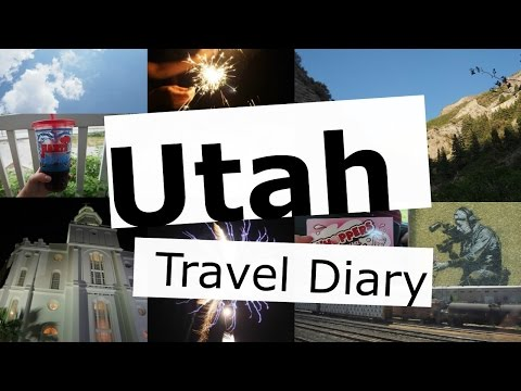 Utah Travel Diary | Fireworks | Trains | Salt Lake City || Rachel