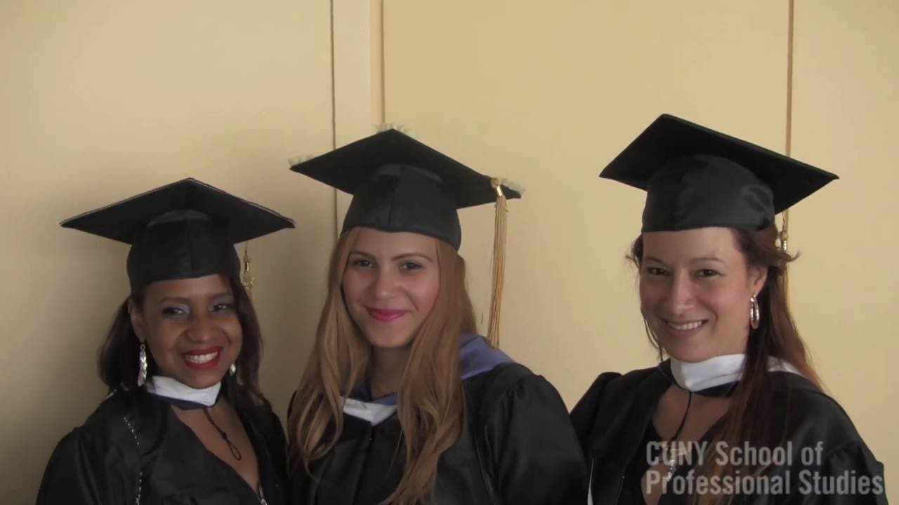CUNY SPS Commencement 2016 Ceremony - YouTube