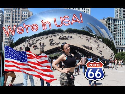 Hello Chicago! | USA Vlog Part 1