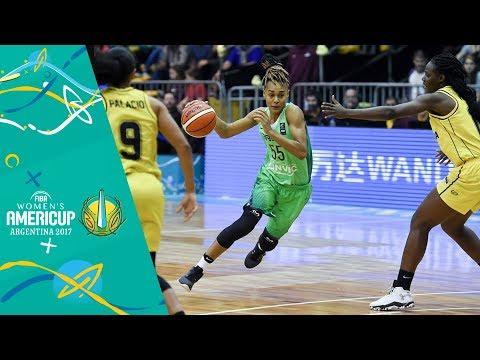 Colombia v Brazil - Full Game - FIBA Women's Americup 2017