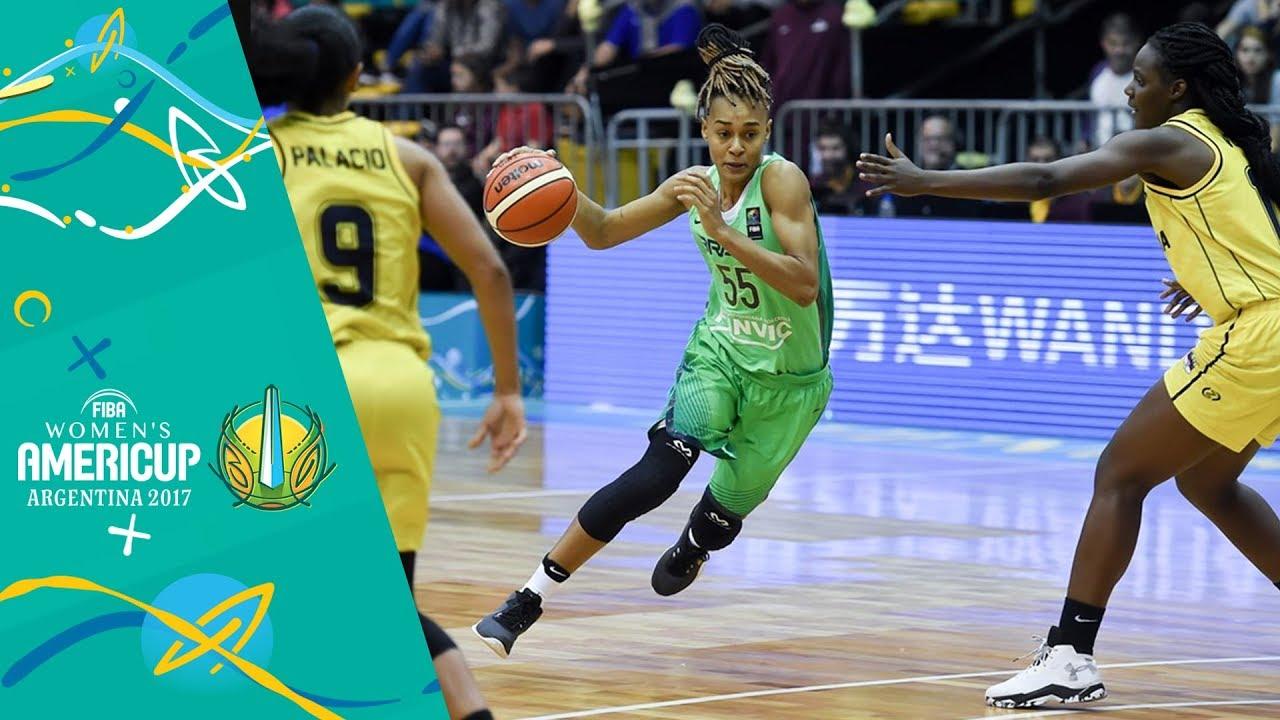 b966c05effa Colombia v Brazil - Full Game - FIBA Women s Americup 2017 - YouTube