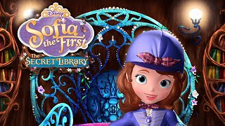 Sofia the First - Full Episode of The Secret Library Storybook/Game - Walkthrough - Disney Jr. App