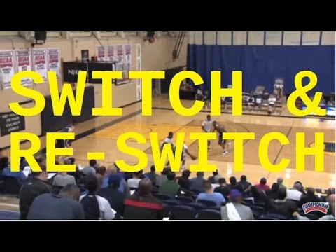 Switch And Re-Switch A Ball Screen! - Basketball 2016 #46