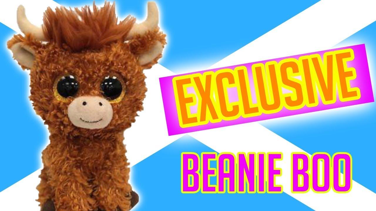 1f6b17e4daf New beanie boos Angus the scottish exclusive