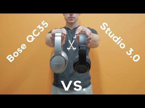 Review Comparison Bose QC35 Series 2vs Beats By Dre Studio 3 Wireless