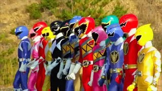 power rangers dino charge opening
