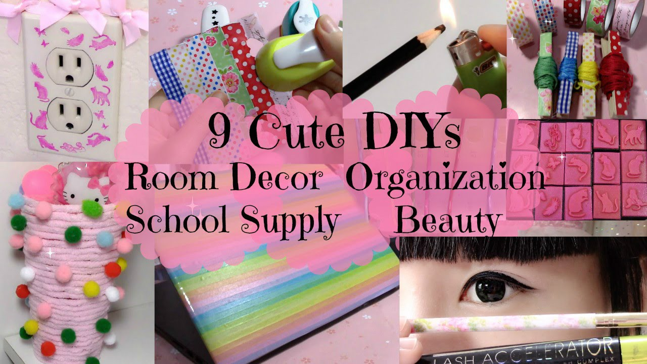 9 Cute DIYs Ideas Girls Should Try