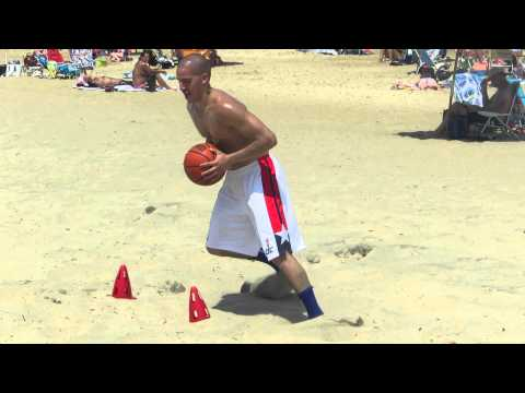 Wesley Guillen Basketball Beach Workout.