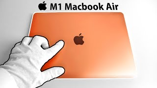 Apple M1 Macbook Air Unboxing - But can it run Videogames? (Call of Duty, Fortnite, Rocket League)