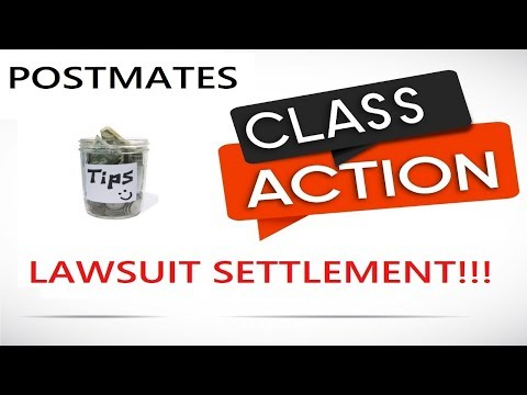 Postmates Class Action Lawsuit SETTLEMENT! - YouTube