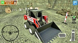 Construction truck game Quarry Driver 3: Giant Trucks- Android Gameplay HD #4
