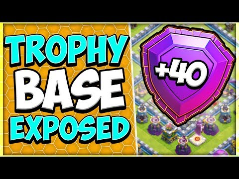 Worlds Most Used TH 12 Trophy Base Cracked | Legend League TH 12 Base | Clash Of Clans