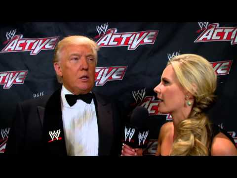 Donald Trump comments on his long relationship with Mr. McMahon: WWE.com Exclusive, April 9, 2013