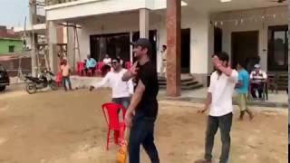 सुशांत सिंह राजपूत अपने घर बिहार में क्रिकेट खेलते हुए | सुशांत सिंह राजपूत अंतिम विडीयो | sushant