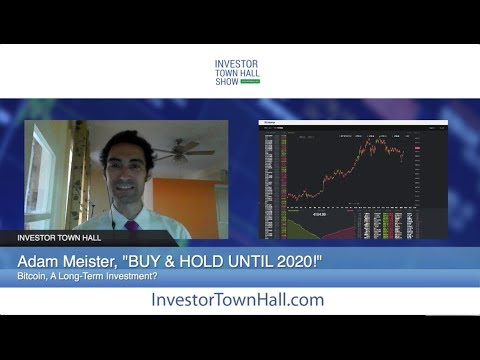 "Cryptocurrency Investing, Bitcoin (BTC) - Adam Meister, ""BUY And Hold Until 2020"""
