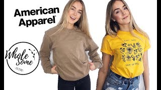 AFFORDABLE ETHICAL TRY ON HAUL