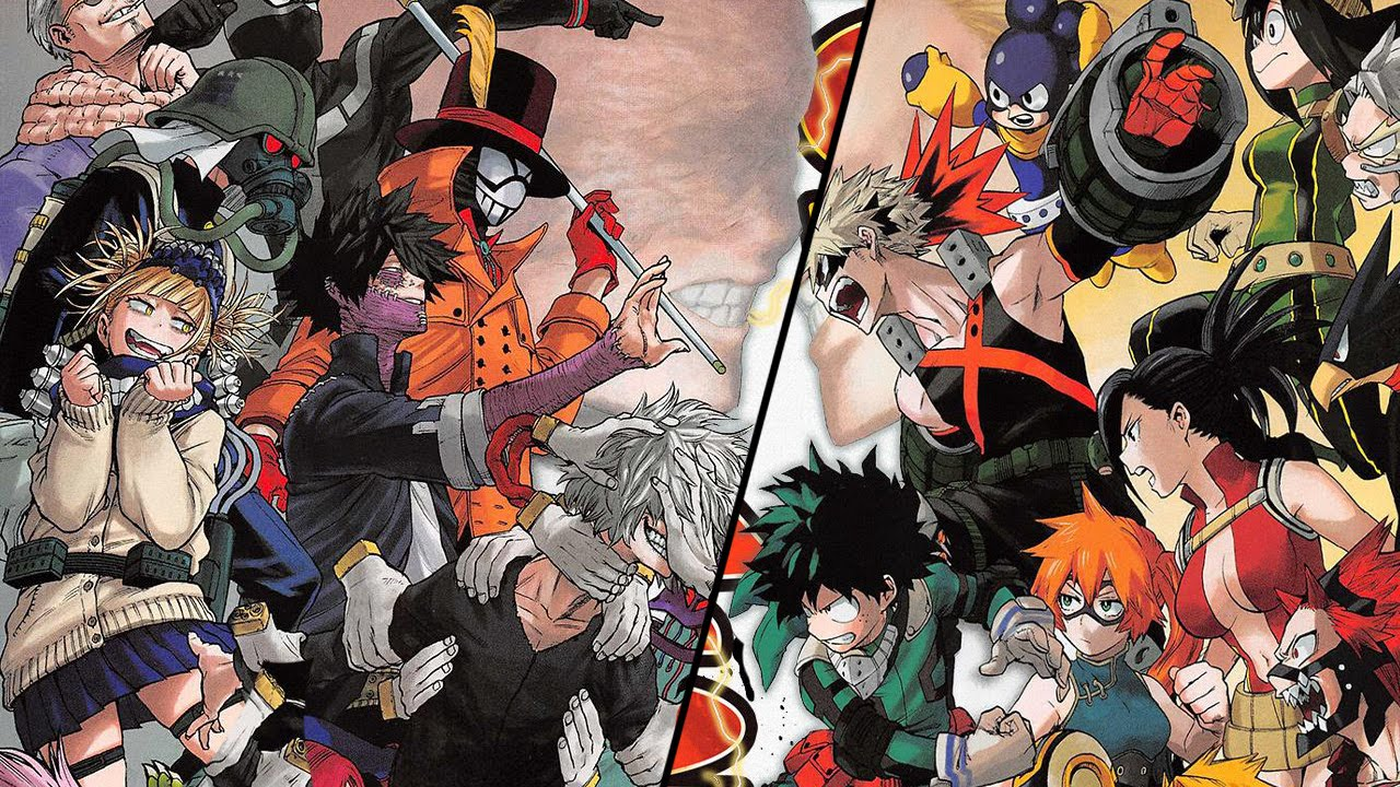 My Hero Academia Manga Chapter 76 僕のヒーローアカデミア Review WTF 1 ...