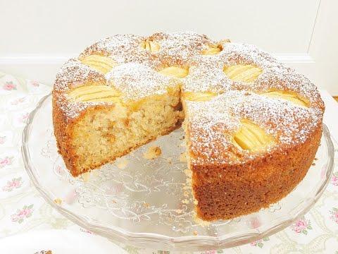 Elmalı  Cevizli Alman Pastası / elmalı kek nasıl yapılır
