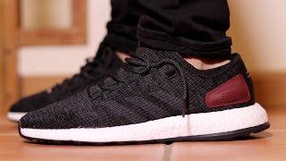 adidas pure boost on feet
