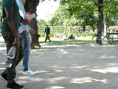 Dhruva in Copenhagen park