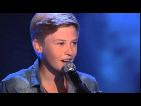Top 10 all turn auditions The voice of Holland kids