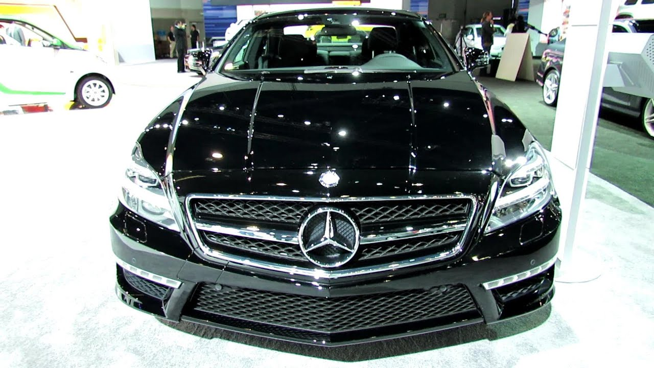 2013 mercedes benz cls63 amg exterior and interior walkaround 2012 los angeles auto show youtube