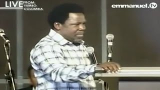 Pastors Conference With Prophet TB Joshua In Colombia (Part 2/3), Emmanuel TV