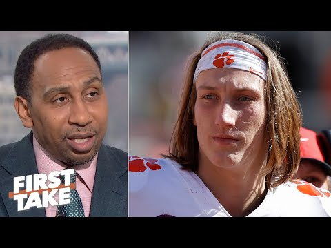 Stephen A. isn't blaming Trevor Lawrence for Clemson's loss to LSU | First Take