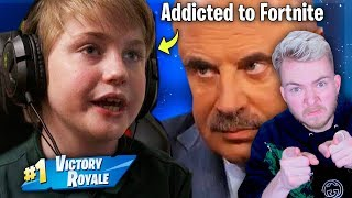 Dr. Phil DESTROYS Fortnite Addicted Child...(CRAZY)