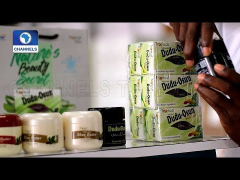 Nigerian Entrepreneur Makes Cosmetic From Organic Product |Eco@Africa|