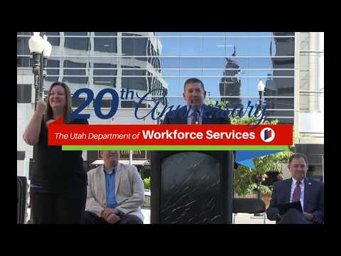 20th Anniversary: Utah Department of Workforce Services - Live