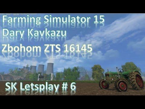 Farming Simulator15 Dary kavkazu# 6 zbohom zts 16145 SK Lets Play[720p 60fps]