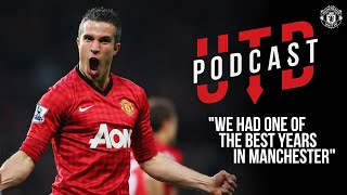 "Robin van Persie | ""We had one of the best years in Manchester"" 