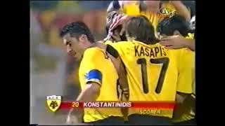 2001-02 UEFA CUP Round of 32 (1) AEK-LITEX LOVECH