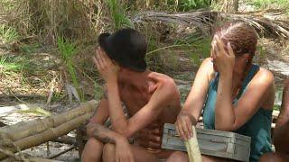 Starka känslor när deltagarna får brev hemifrån  – Robinson (TV4)