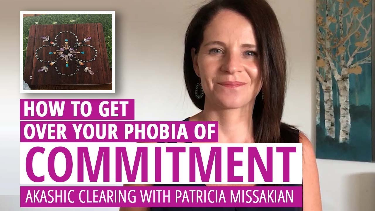 How to get over commitment phobia