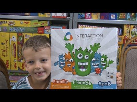 Interaction (Rudy Games) - App gesteuertes Familien- und Partyspiel - ab 8 Jahre